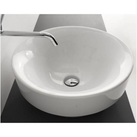 Kerasan Ciotola Umywalka wpuszczana w blat 45x45x21 cm, biała 355701