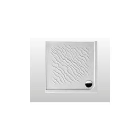 Kerasan Dune Brodzik prostokątny 90x90x8 cm, biały 1322