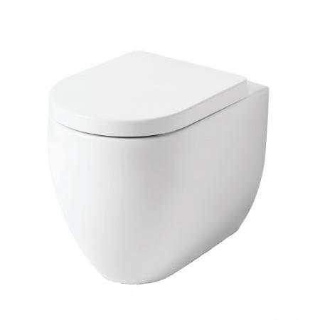 Kerasan Flo Toaleta WC stojąca 52x36 cm Norim bez kołnierza, biała 311201