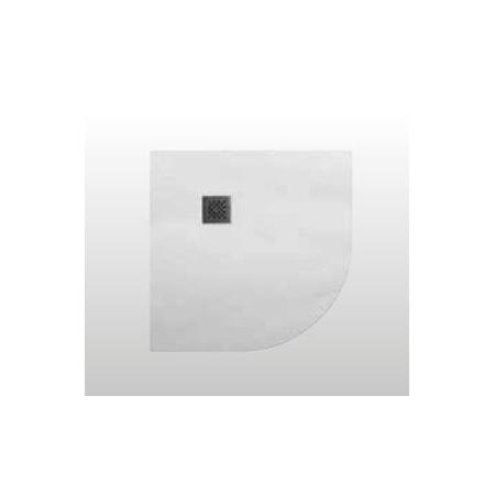 Kerasan H2.5 Brodzik półokrągły 80x80 cm, biały 704530
