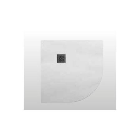 Kerasan H2.5 Brodzik półokrągły 90x90 cm, biały 704630