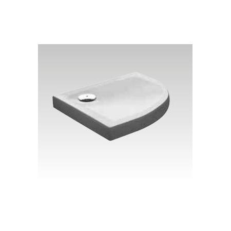 Kerasan H9 Brodzik półokrągły 80x80x9 cm, biały 704815