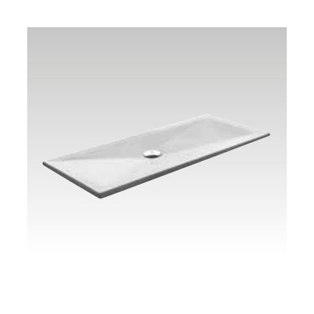 Kerasan H3 Brodzik prostokątny z powłoką antypoślizgową 70x140 cm, biały 704907