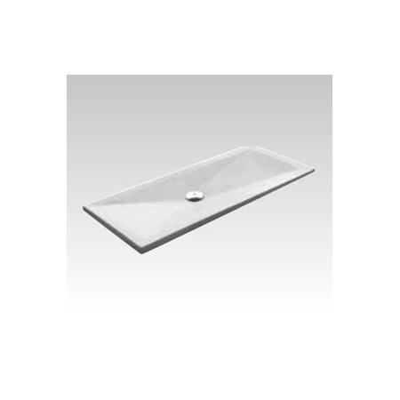 Kerasan H3 Brodzik prostokątny 80x120 cm, biały 704711