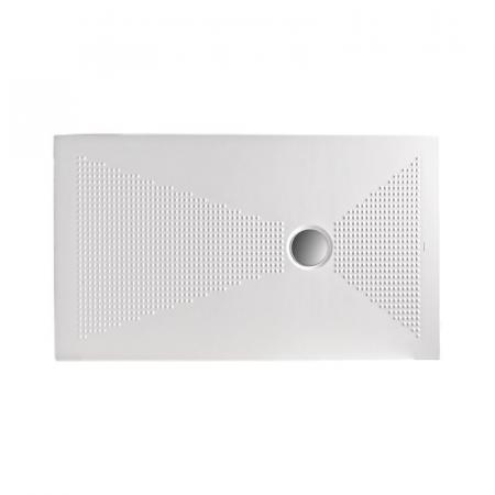 Kerasan NoLita Brodzik prostokątny 100x80x3 cm, biały 709501