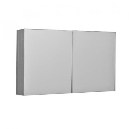 Kerasan NoLita Szafka lustrzana 120x12x70 cm, aluminium  921701