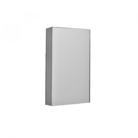 Kerasan NoLita Szafka lustrzana 50x12x70 cm, aluminium 921401