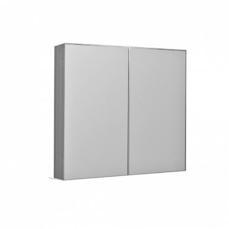 Kerasan NoLita Szafka lustrzana 70x12x70 cm, aluminium 921501