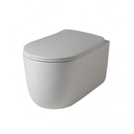 Kerasan NoLita Toaleta WC podwieszana 55x35 cm Norim bez kołnierza, biała 531401