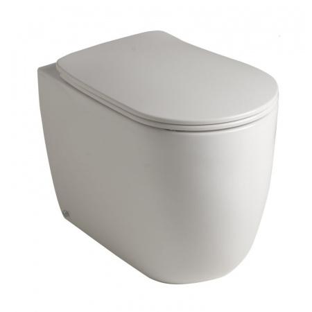 Kerasan NoLita Toaleta WC stojąca 55x35x43 cm No Rim bez kołnierza, biała 531801