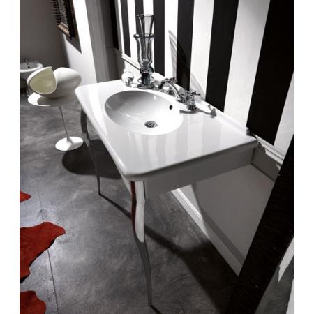 Kerasan Retro Konsola do umywalki 100x55 cm, biała 104901