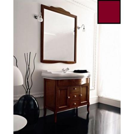 Kerasan Retro Lustro 90x103 cm, rama w kolorze bordowym 734553