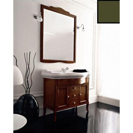 Kerasan Retro Lustro 90x103 cm, rama w kolorze zielonym 734552