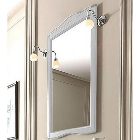 Kerasan Retro Lustro łazienkowe 63x116 cm, białe matowe 731330