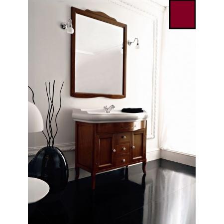 Kerasan Retro Lustro łazienkowe 63x116 cm, bordowe 731353