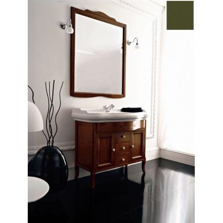 Kerasan Retro Lustro łazienkowe 63x116 cm, zielone 731352