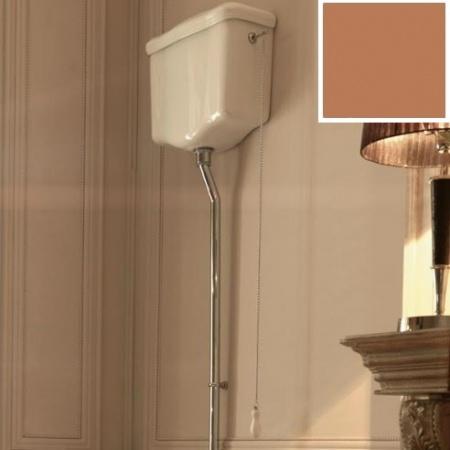 Kerasan Retro Mechanizm spłukujący z łańcuszkiem w kolorze brązowym 754593