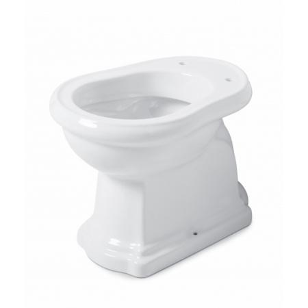 Kerasan Retro Toaleta WC stojąca 53x38,5 cm odpływ poziomy, biała 101101
