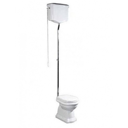 Kerasan Retro Spłuczka WC kompaktowa wysoka, biała 108001
