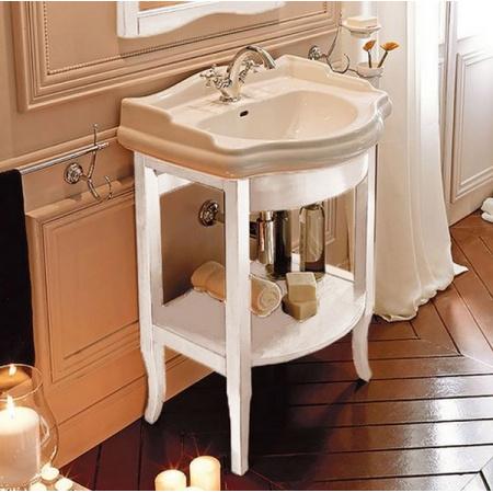 Kerasan Retro Szafka pod umywalkę 69 cm, biała matowa 735030