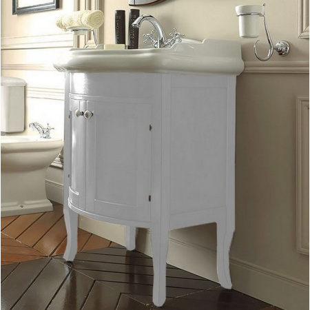 Kerasan Retro Szafka pod umywalkę 69 cm, biała matowa 735130