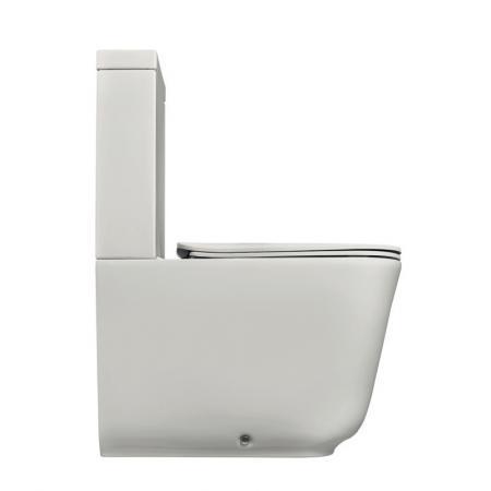 Kerasan Tribeca Toaleta WC kompaktowa 69x35 cm ze spłuczką biała 5117+3781