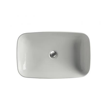 Kerasan Tribeca Umywalka nablatowa 60x38 cm biała 514101