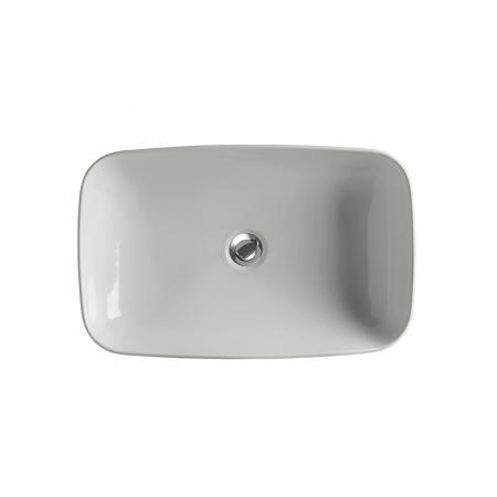 Kerasan Tribeca Umywalka nablatowa lub wpuszczana w blat 60x38 cm biała 514301