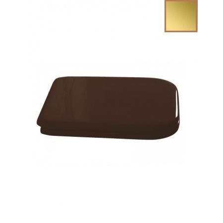 Kerasan Waldorf Deska sedesowa wolnoopadająca, orzech zawiasy złote 418740