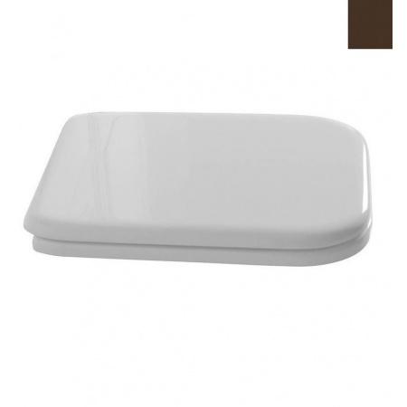 Kerasan Waldorf Deska sedesowa zwykła, biała zawiasy brązowe 419301