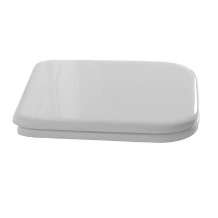 Kerasan Waldorf Deska sedesowa zwykła, biała zawiasy chrom 419001