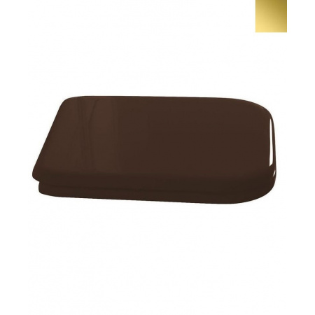 Kerasan Waldorf Deska sedesowa zwykła, orzech zawiasy złote 419140