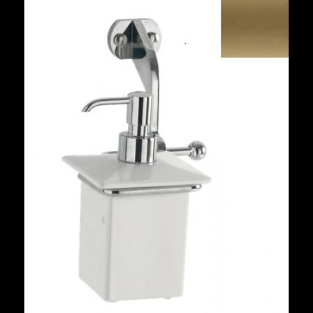 Kerasan Waldorf Dozownik mydła w płynie wiszący, brązowy 741293