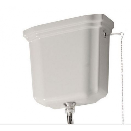 Kerasan Waldorf Zbiornik WC ceramiczny górnopłuk, biały 418001