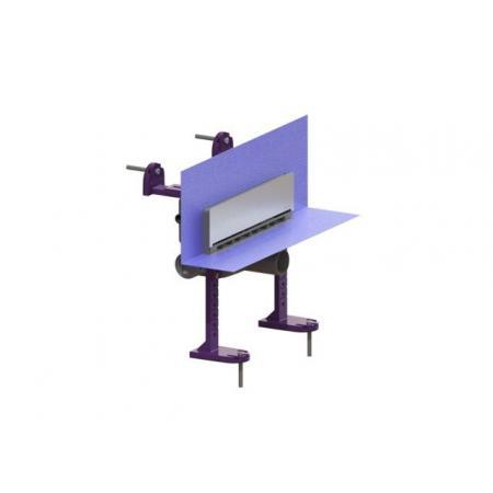 Kessel Scada Odpływ ścienny LED RGB z pokrywą ze stali nierdzewnej, stal nierdzewna/szary 48003.42