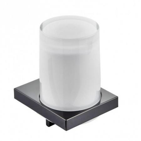 Keuco Edition 11 Dozownik do mydła, chrom czarny polerowany/szkło matowe 11152129000