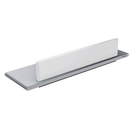 Keuco Edition 400 Półka prysznicowa 32,8 cm z wycieraczką, srebrna 11559170000