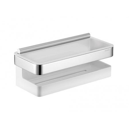 Keuco Moll Półka prysznicowa 24x11 cm, biała 12759010000