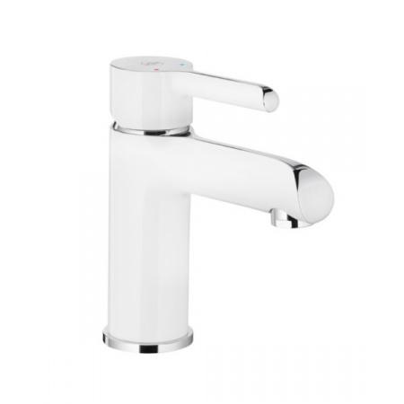 KFA Angelit Bateria umywalkowa chrom/biała 4722-815-40