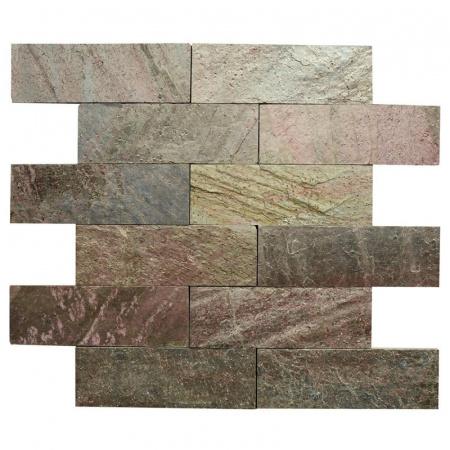 Klink Łupek naturalny 30x10 cm, copper 00314