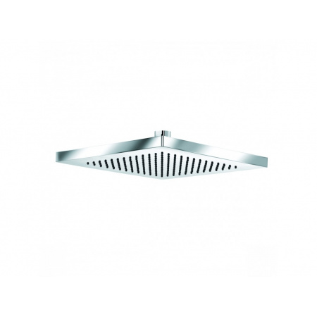 Kludi A-QA Deszczownica prostokątna 25x25 cm Eco, chrom 6654105-00