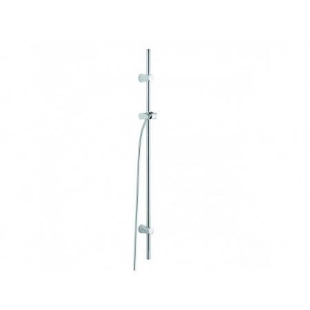 Kludi A-QA Drążek prysznicowy z uchwytem 110 cm chrom 6209505-00