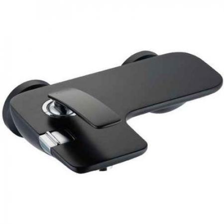 Kludi Balance Black Bateria wannowo-prysznicowa natynkowa czarny mat/chrom 524458775