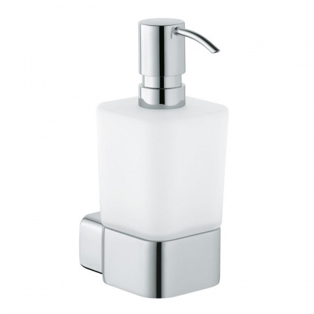 Kludi E2 Dozownik na mydło w płynie, chrom/szkło matowe 4997605