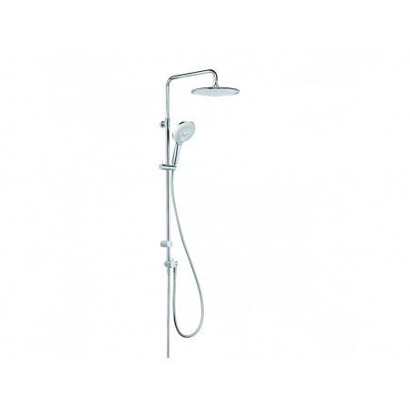 Kludi Freshline Zestaw prysznicowy natynkowy z deszczownicą chrom 6709005-00