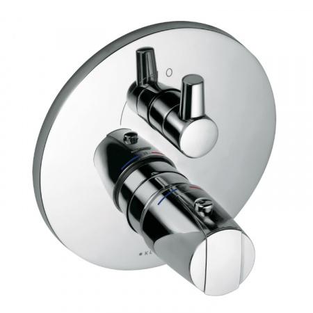 Kludi MX Dwuuchwytowa bateria wannowo-prysznicowa podtynkowa termostatyczna, chrom 358300538