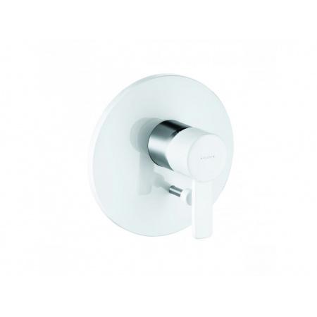 Kludi Zenta Jednouchwytowa bateria prysznicowa podtynkowa, chrom/biała 386509175