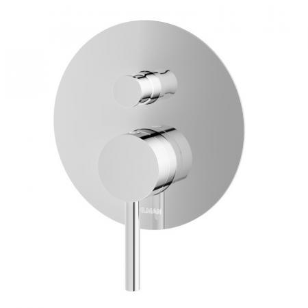 Kohlman Axel Bateria wannowo-prysznicowa podtynkowa chrom QW210A