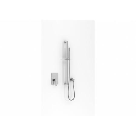Kohlman Axis Zestaw prysznicowy podtynkowy chrom QW220NSP2