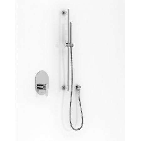 Kohlman Boxine Zestaw prysznicowy podtynkowy chrom QW220BSP4